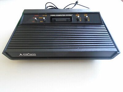 Vintage Atari VCS 2600 Console (Tested and Working) BLACK