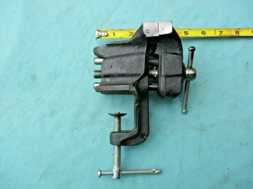 """SMALL CLAMP-ON BENCH VISE  - 3"""" WIDE JAWS"""
