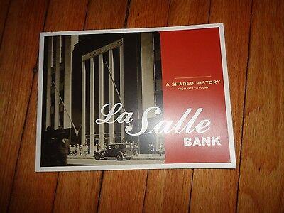 History LaSalle La Salle Bank Chicago Banking