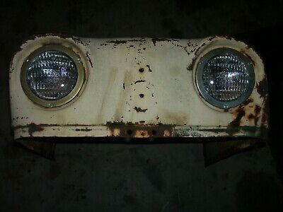Vintage Ji Case 440 Gas Tractor -front Hood Assembly- 1963