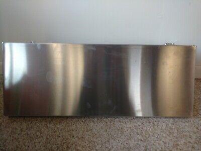 Stainless Steel Fold Down Shelf 32x12x2 With Brackets