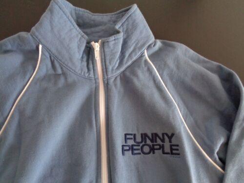 FUNNY PEOPLE Movie PROMO Zip Up Sweatshirt 2009 Free Ship Adam Sandler SMALL