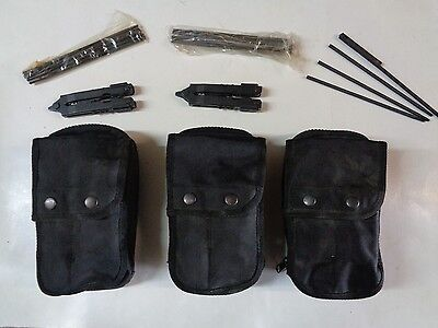 Lot of 3 Otis CQB Close Quarters Bttle Cleaning Kit W/ Gerbers 1005-01-541-7228
