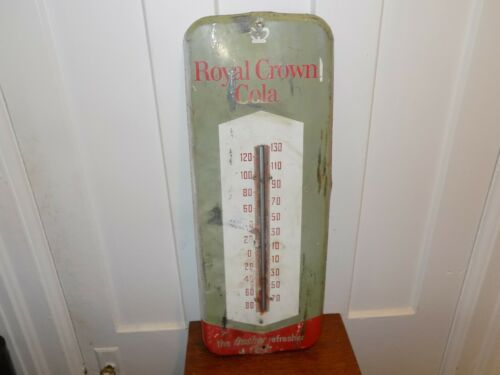 Vintage Royal Crown Cola Large Thermometer Donasco