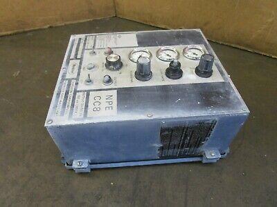 Nordson Npe Cc8 246152h Powder Coating Machine Control Panel 120240v 1ph 1a