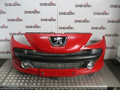 PEUGEOT 207 ESTATE-3//5DR HATCH 2006-2009 FRONT BUMPER SPORT MODELS NEW PRIMED