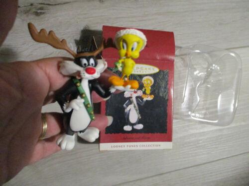 Hallmark Keepsake Ornament,Looney Tunes 1993,Sylvester & Tweety Bird,2 Cool!