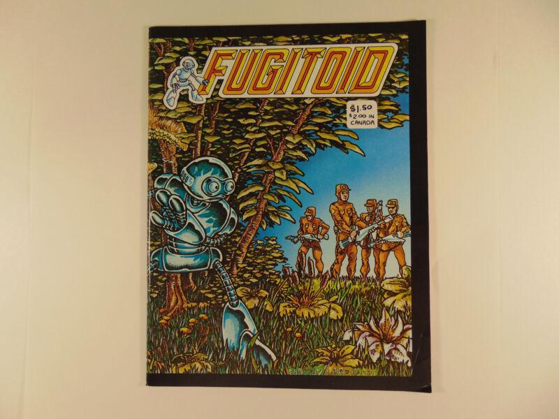 Fugitoid 1 1985 Eastman Laird Full Color Cover Comic. Ninja Turtles Universe
