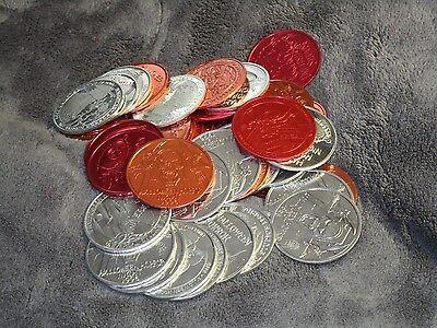 Universal Studios Florida Halloween Horror Nights 6 Coins - Universal Studios Florida Halloween