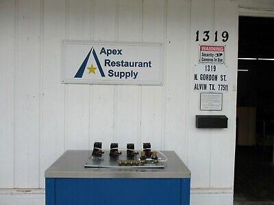 New Perlick 4 Beer Pump Panel 4696