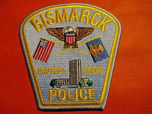 Collectible North Dakota Police Patch,Bismarck,Capital City,New