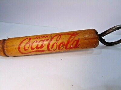 vintage DRINK COCA-COLA IN BOTTLES DELICIOUS REFRESHING ice pick BOTTLE OPENER