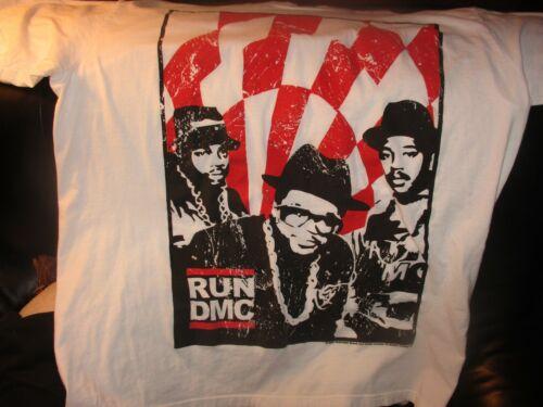 Soft White 2007 RUN DMC T Shirt XL By Antill Trading Classic Rap Hip Hop