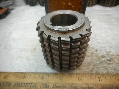 Gear Hob Cutter Barber Colman 6 Keys Ang 2 Deg 39 Dep Minus Lugs .0783 Finish Rh