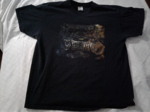 Bullet For My Valentine Scream Aim Fire 2008 Tour Black T Shirt , FADED, XL,
