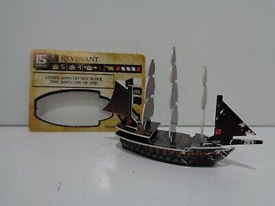 Pirates Constructible Strategy - REVENANT - Wizkids Pirates of the Spanish (Pirates Constructible Strategy Game)