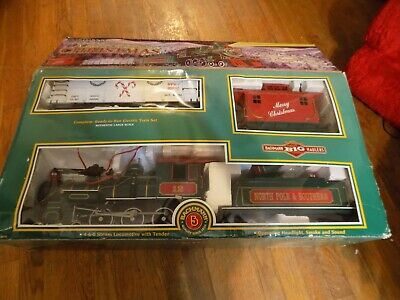 Bachmann Night Before Christmas G Scale Locomotive Train Set 90037 WORKS!!