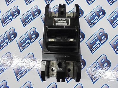 Heinemann Cj2-g3-w 200 Amp 240 Volt Wadsworth Main - Reconditioned W Test