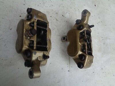 <em>YAMAHA</em> FZR 1000 GENESIS 1987 88   FRONT BRAKE CALIPERS