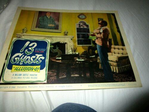 13 GHOSTS, ,,ORIGINAL LOBBY , 1960, MORROW, HERBERT, CASTLE, #3