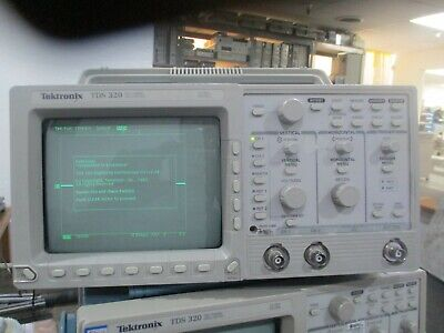 Tektronix Model Tds 320. Two Channel Oscilloscope . 100 Mhz 500 Mss