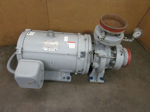 "SCOT 57 4""X3"" CENTRIFUGAL PUMP 6.88"" IMPELLER  40HP 208/ 230/460V 3PH 3525 RPM"