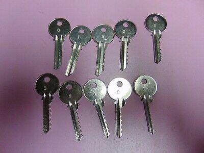 Yale Y2  6 Pin Depth Keys 0-9   Locksmith