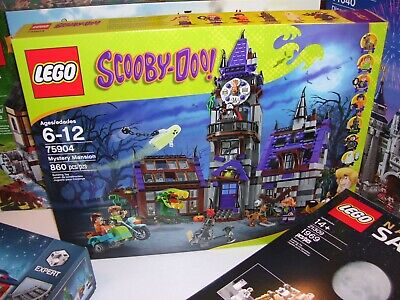 Lego 75904 Scooby Doo Mystery Mansion NEW, never opened, very good condition box