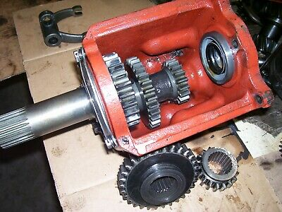 Vintage Ji Case 311 Gas Tractor -aux Trans Gearbox Assembly- 1956