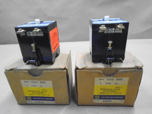 NEW Square D 8501-LL Mechanical Latch Attatchment 110 120 Volt AC Series A