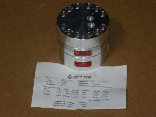 AW Lake Gear Meters JVA-60KG-75 NPT Positive displacement flow meter