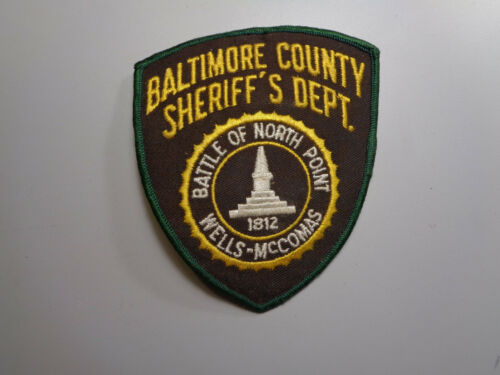 Vintage Baltimore County Maryland Sheriff