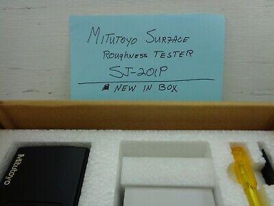 Mitutoyo Sj-201p Profilometer Surface Roughness Tester Kit W Case