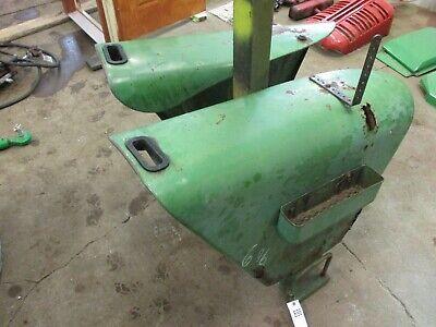 John Deere 10 Or 20 Series Tractor Fenders W Brackets Tool Box696