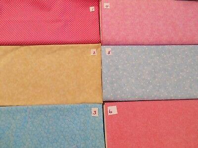 Bulk Back (BULK 100% COTTON FABRIC quilt back, background, filler 10 yds 44