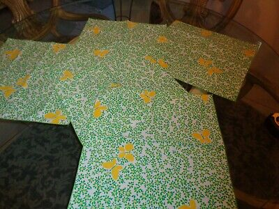 5 ADORABLE Daisy & Butterfly Dinner Napkins 17