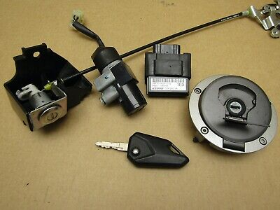 Honda MSX Grom 125 A-H 2018 4,357 miles ECU ignition lockset (4504)