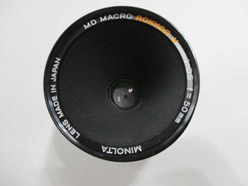 Minolta MD Macro Rokkor-X 50mm F3.5 lens for Minolta in great condition