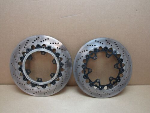BMW K100RS 16V 1990 25,711 miles front brake discs pair (2994)