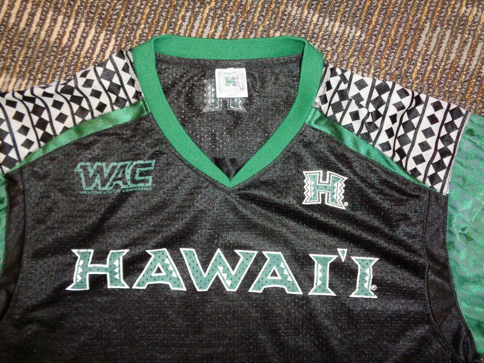 LOT 2-HAWAII RAINBOW WARRIORS NCAA COLLEGE BASKETBALL FOOTBALL GAME JERSEYS SZ M - $49.99