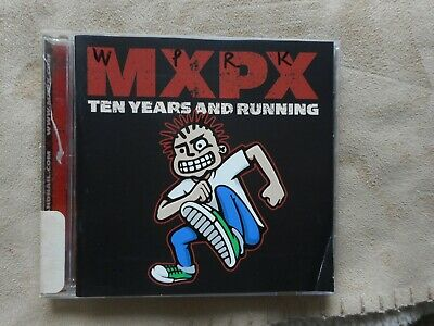 "MXPX ""TEN YEARS AND RUNNING"" CD RADIO STATION PROMO 2002 PUNK TOOTH & NAIL LABEL for sale  Shipping to Canada"