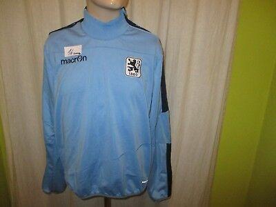 TSV 1860 München Original macron NLZ Spieler Freizeit Sweatshirt/Pullover Gr.M