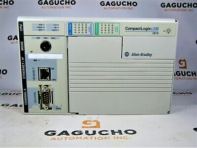 Allen Bradley 1769-l23e-qb1b A Compactlogix Packaged Ethernet Controller 512kb