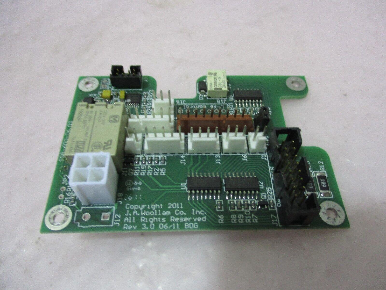 J.A. Woollam SSB-600-06.03 PCB Board, 420446