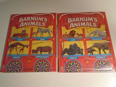 2 Barnums Animals Crackers Puzzle Pack  Animals Complete plaque board 43210 - Barnum's Animal Crackers Bulk
