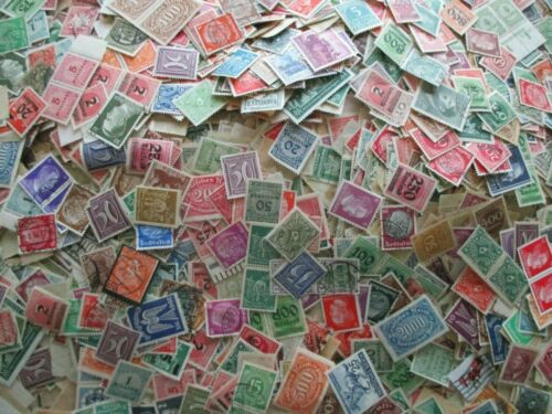 1000 GERMANY STAMPS COLLECTION