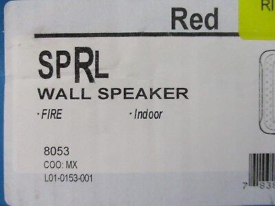 New System Sensor Sprl - L-series Wall-mountable Red Speaker