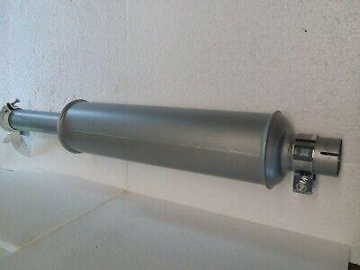 Farmall A B C Supers 100 Thru 340 Muffler With Raincap And Chrome Clamp