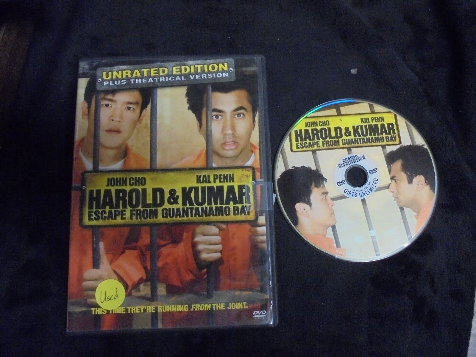 "Harold And Kumar Escape From Guantanamo Bay Full Movie Free used dvd ""harold & kumar escape from guantanamo bay"