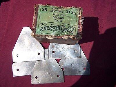 5 Vintage Deering Sickle Bar Mower Blades
